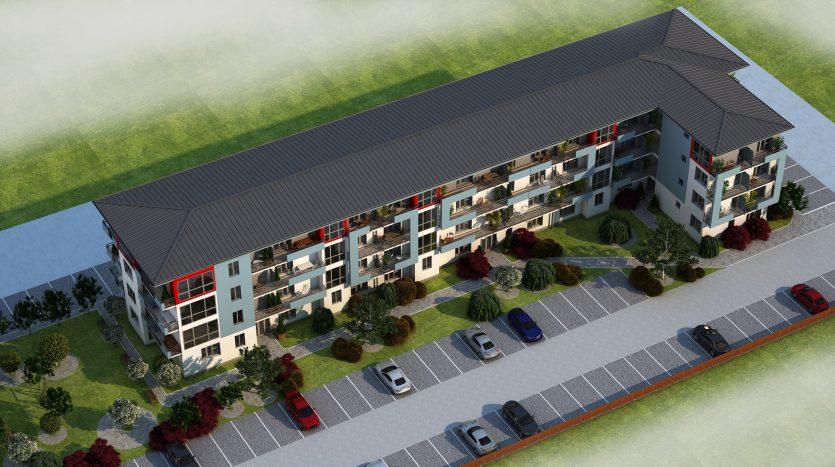 Plan exterior - Proiect Lemnelor