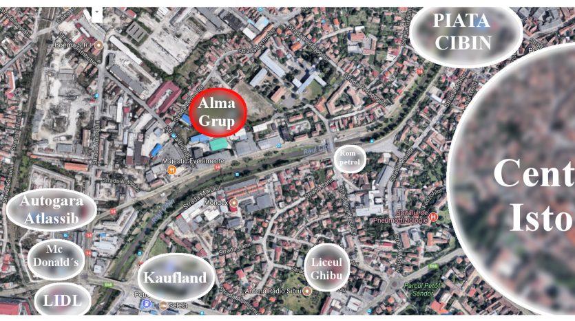 Apartamente de vanzare Ansamblu Rezidential Central Alma Grup